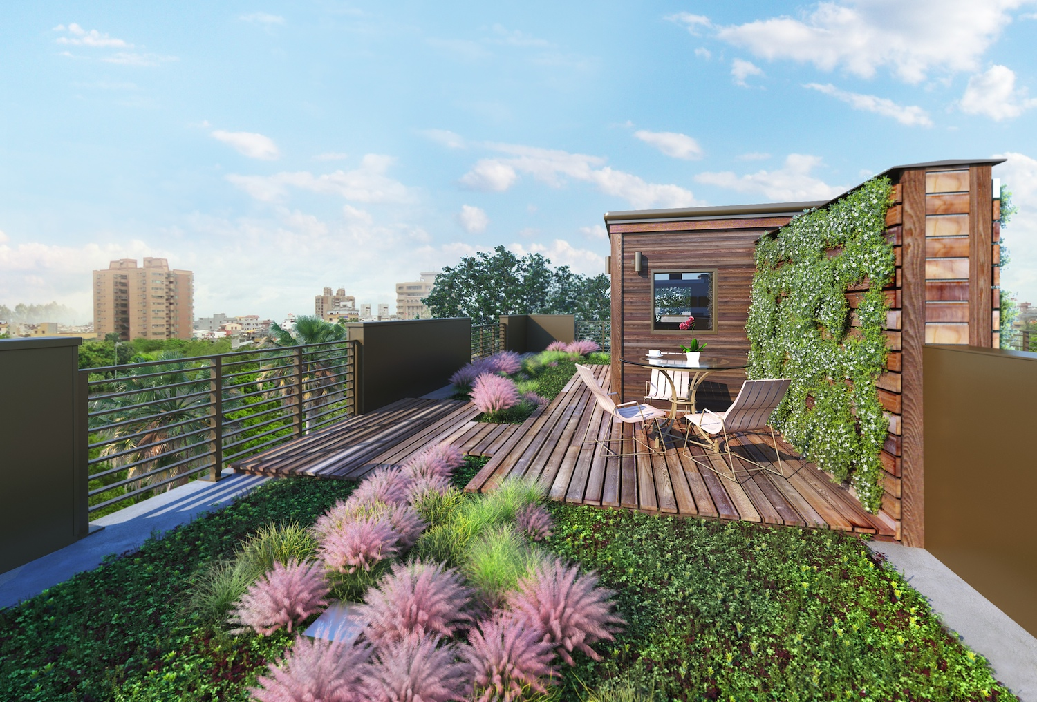 Harleston Row Living Roof
